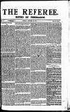 The Referee Sunday 28 October 1877 Page 1