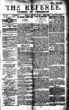 The Referee Sunday 15 January 1911 Page 1