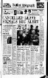 CANCELLED LEAVE SIGNALS RUC ALERT