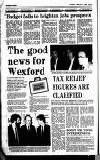 New Ross Standard Thursday 02 February 1989 Page 34