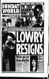 Sunday World (Dublin) Sunday 01 December 1996 Page 1
