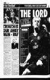 CROUCH IS OUR AWAY MAN -RAF BY KEN LAWRENCE