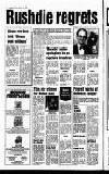 Sunday Life Sunday 19 February 1989 Page 6