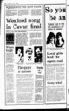 Enniscorthy Guardian Friday 29 January 1988 Page 30