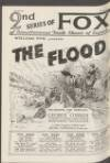 """FOX WEEK in LONDON. """" THE FLOOD """" Capitol, Haymarket, Wed., March 24th, at 11 a.m. """" THE ROAD TO"""