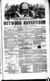 Heywood Advertiser Saturday 22 December 1855 Page 1