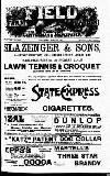LAWN TENNIS & CROQUET
