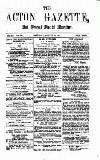 Acton Gazette Saturday 14 August 1875 Page 1