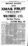 Acton Gazette Friday 13 November 1908 Page 3