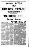 Acton Gazette Friday 20 November 1908 Page 3