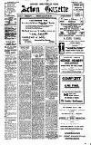 Acton Gazette Friday 24 January 1913 Page 1
