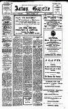 Acton Gazette Friday 03 October 1913 Page 1