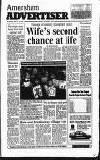 Amersham Advertiser Wednesday 13 March 1991 Page 1