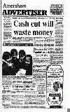 Amersham Advertiser Wednesday 27 March 1991 Page 1