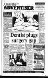 Amersham Advertiser Wednesday 08 May 1991 Page 1
