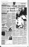 Amersham Advertiser Wednesday 14 August 1991 Page 10