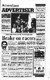 Amersham Advertiser Wednesday 28 August 1991 Page 1