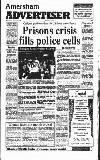 Amersham Advertiser Wednesday 30 October 1991 Page 1