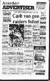 Amersham Advertiser Wednesday 06 November 1991 Page 1
