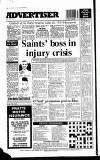Amersham Advertiser Wednesday 06 January 1993 Page 52