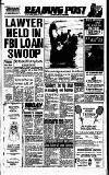 Reading Evening Post Friday 31 March 1989 Page 1