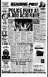 Reading Evening Post Tuesday 02 January 1990 Page 1