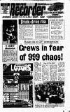 Mansfield & Sutton Recorder Thursday 04 January 1990 Page 1
