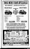 Mansfield & Sutton Recorder Thursday 04 January 1990 Page 47