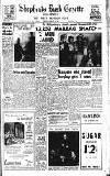 Hammersmith & Shepherds Bush Gazette Friday 20 January 1956 Page 1