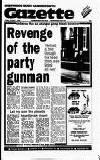 Hammersmith & Shepherds Bush Gazette Friday 01 January 1988 Page 1