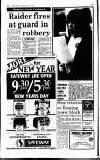 Hammersmith & Shepherds Bush Gazette Friday 01 January 1988 Page 6
