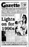Hammersmith & Shepherds Bush Gazette Friday 29 December 1989 Page 1