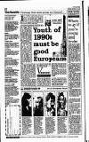 Hammersmith & Shepherds Bush Gazette Friday 29 December 1989 Page 12