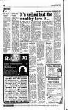 Hammersmith & Shepherds Bush Gazette Friday 29 December 1989 Page 14
