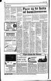Hammersmith & Shepherds Bush Gazette Friday 02 November 1990 Page 14