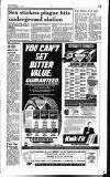 Hammersmith & Shepherds Bush Gazette Friday 02 November 1990 Page 15