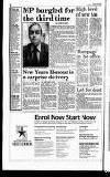 Hammersmith & Shepherds Bush Gazette Friday 03 January 1992 Page 2