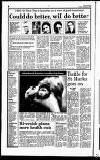 Hammersmith & Shepherds Bush Gazette Friday 03 January 1992 Page 6