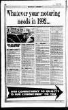 Hammersmith & Shepherds Bush Gazette Friday 03 January 1992 Page 26