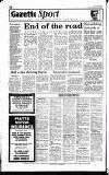 Hammersmith & Shepherds Bush Gazette Friday 24 January 1992 Page 54