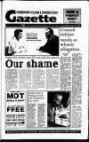 Hammersmith & Shepherds Bush Gazette Friday 14 February 1992 Page 1