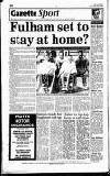 Hammersmith & Shepherds Bush Gazette Friday 05 June 1992 Page 52