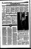 Hammersmith & Shepherds Bush Gazette Friday 08 January 1993 Page 10