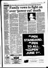 Hammersmith & Shepherds Bush Gazette Friday 04 June 1993 Page 13