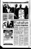 Hammersmith & Shepherds Bush Gazette Friday 06 December 1996 Page 16