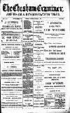 Buckinghamshire Examiner Wednesday 30 October 1889 Page 1