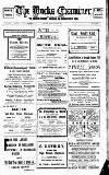 Buckinghamshire Examiner Friday 28 June 1912 Page 1