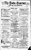 Buckinghamshire Examiner Friday 02 August 1912 Page 1
