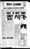 Buckinghamshire Examiner Friday 02 January 1981 Page 1