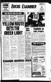 Buckinghamshire Examiner Friday 23 January 1981 Page 1